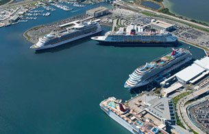 Prestige Easy Park Cruise Parking - Port Miami Cruise Terminal. FACILITY DETAILS. Prestige Easy Park Cruise Parking offers close, convenient, affordable parking for Port Miami. The secure, gated facility is located less than 7 miles from Port Miami with complimentary shuttle service makes it quick and easy to park and transfer to/from the garage.