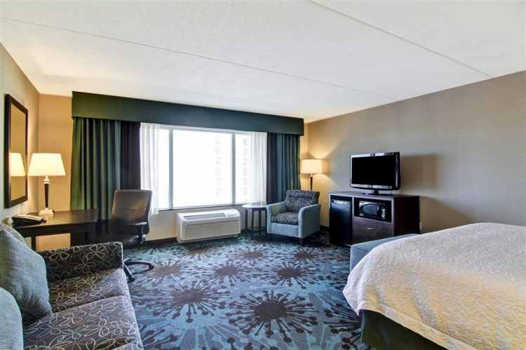 Hampton Inn Toronto Airport Corporate Centre Hotel, ON M9C 5K5 near Toronto Pearson International Airport View Point 1