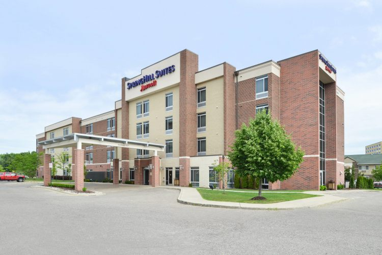 SpringHill Suites by Marriott Detroit Metro Airport Romulus, MI 48174 near Detroit Metropolitan Wayne County Airport View Point 1