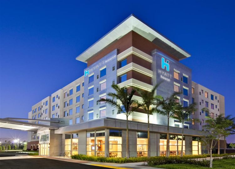 Hyatt House Fort Lauderdale Airport & Cruise Port, FL 33004 near Fort Lauderdale-hollywood International Airport View Point 1