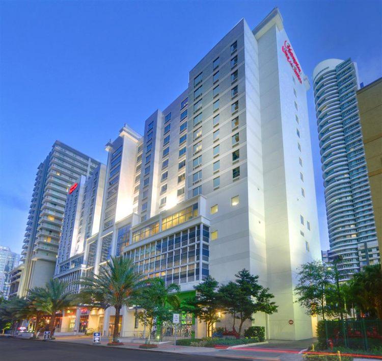 Port Of Miami Parking: Hampton Inn & Suites By Hilton Miami Brickell Downtown