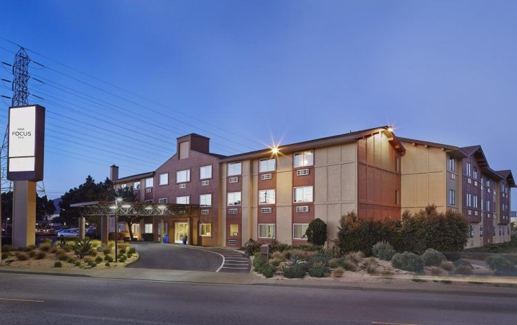Hotel Focus SFO, CA 94080 near San Francisco International Airport View Point 1