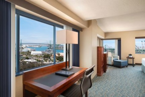 Crowne Plaza Los Angeles Harbor Hotel, CA 90731 near Long Beach Airport View Point 6