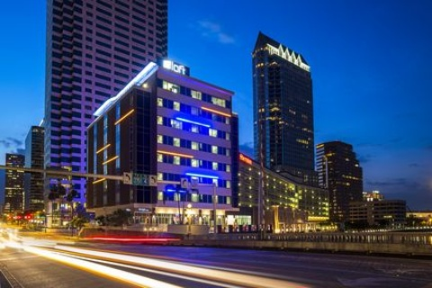Aloft Tampa Downtown, FL 33602 near Tampa International Airport View Point 1