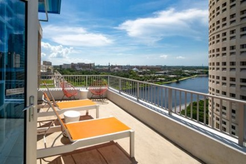 Aloft Tampa Downtown, FL 33602 near Tampa International Airport View Point 3