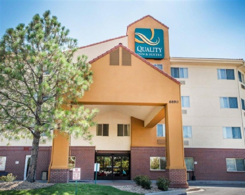 Quality Inn Suites Denver International Airport Denver Co Den