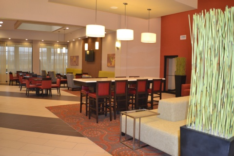 Holiday Inn Express Hotel & Suites Indianapolis , IN 46224 near Indianapolis International Airport View Point 40