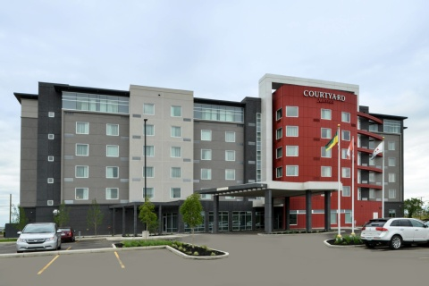Courtyard by Marriott Saskatoon Airport, SK S7L 1S4 near Saskatoon John G. Diefenbaker International Airport