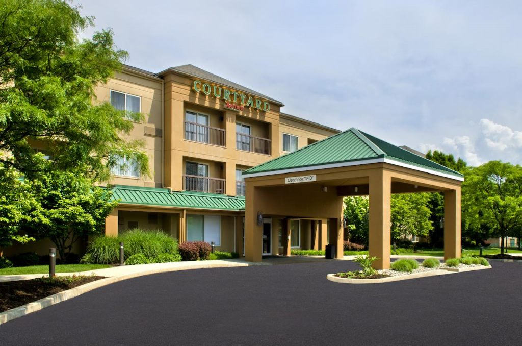 Courtyard by Marriott Allentown Bethlehem/Lehigh Valley Airport, PA 18018 near Lehigh Valley International Airport View Point 1