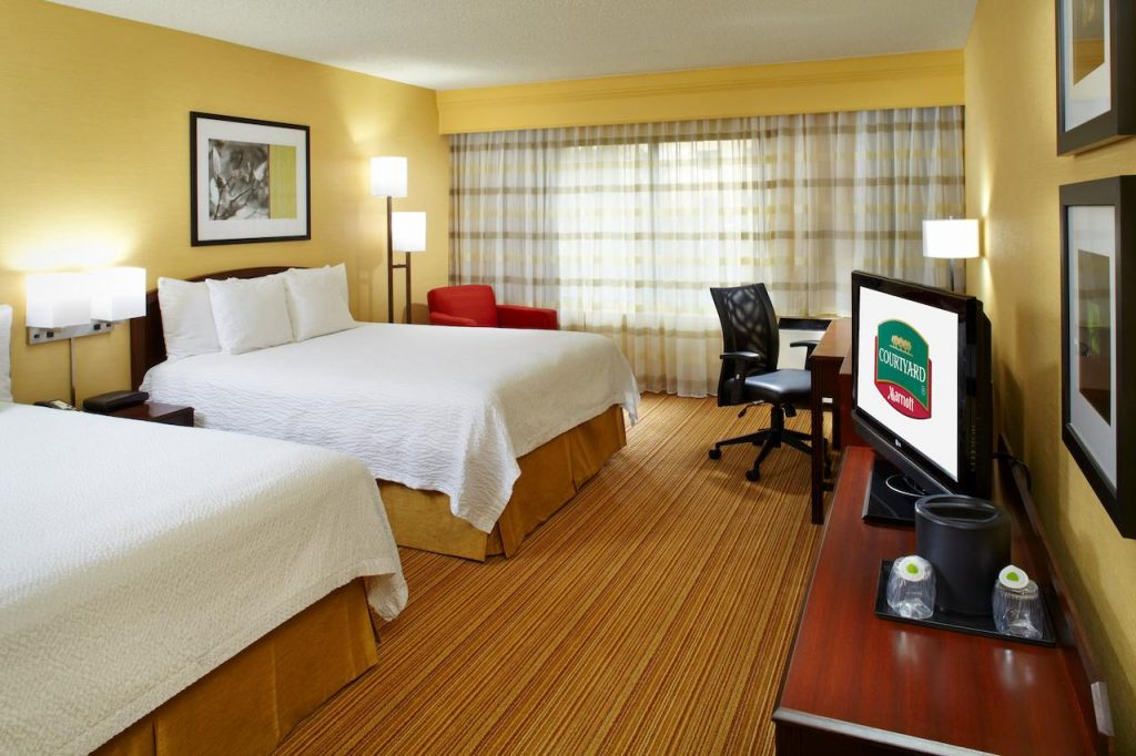 Courtyard by Marriott Columbus Airport, OH 43219 near Port Columbus International Airport View Point 5