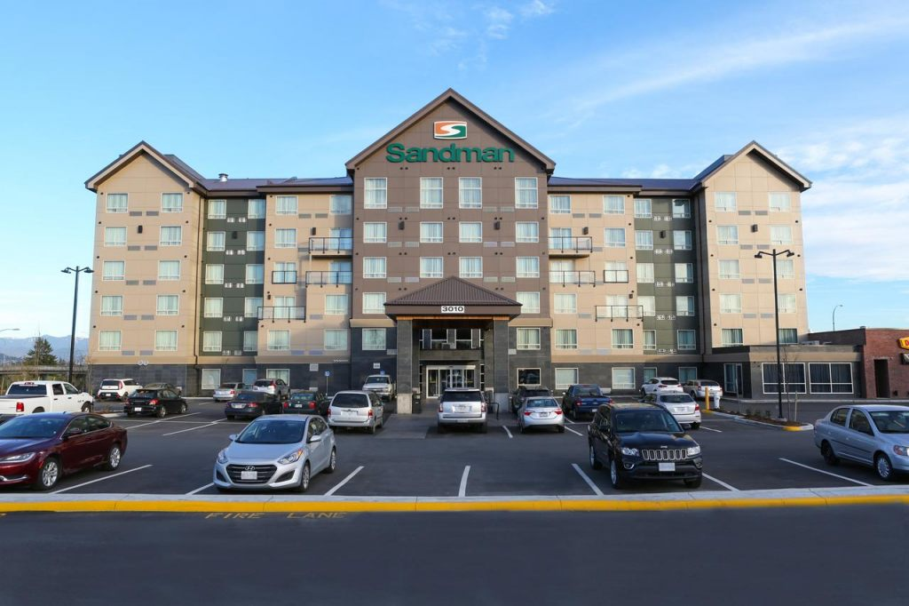 Sandman Hotel Abbotsford Airport, BC V4X 2M9 near Abbotsford International Airport View Point 1