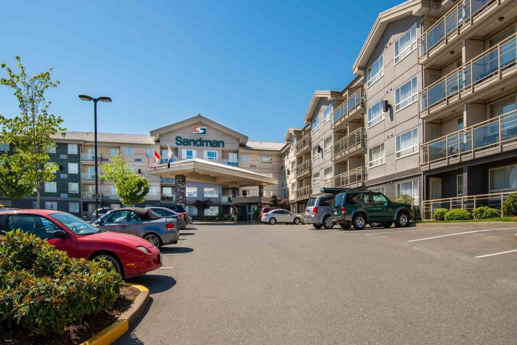 Sandman Hotel & Suites Abbotsford, BC V2T 0B8 near Abbotsford International Airport View Point 2