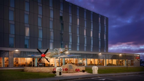 Hampton by Hilton Edinburgh Airport,  EH12 9DN near  Edinburgh Airport View Point 45