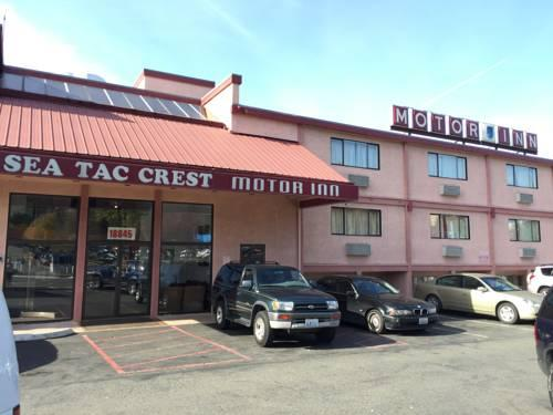seatac crest motor inn wa sea airport park sleep hotels