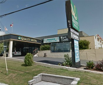 Quality Hotel Dorval Aeroport, Quebec H4T 1E7 near Montreal-Pierre Elliott Trudeau Int. Airport