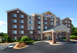 Front view of Fairfield Inn Greensboro Airport, NC 27409