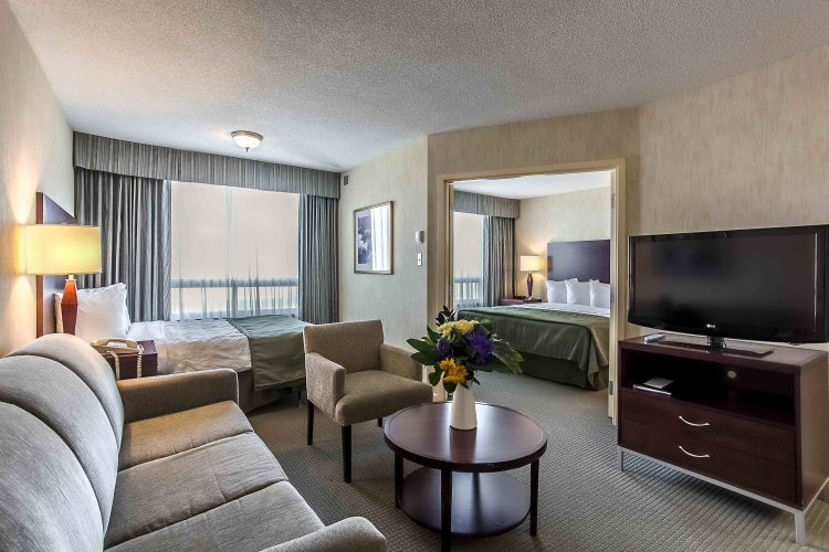 Quality Suites Montreal Aeroport, Quebec H9R1B9 near Montreal-Pierre Elliott Trudeau Int. Airport View Point 2