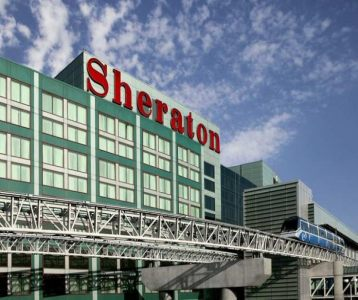 Front view of Sheraton Gateway Hotel, Ontario L5P 1C4