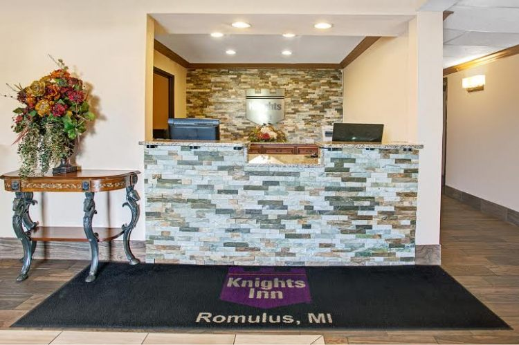 Knights Inn Romulus Detroit Metropolitan Airport, MI 48174 near Detroit Metropolitan Wayne County Airport View Point 2