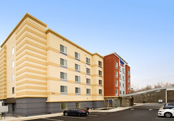 Front view of Fairfield Inn & Suites , MD 21075