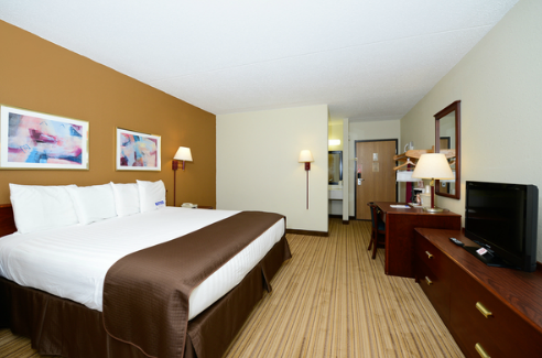 Best Western Flint Airport Inn & Suites, MI  48507 near Bishop International Airport View Point 4