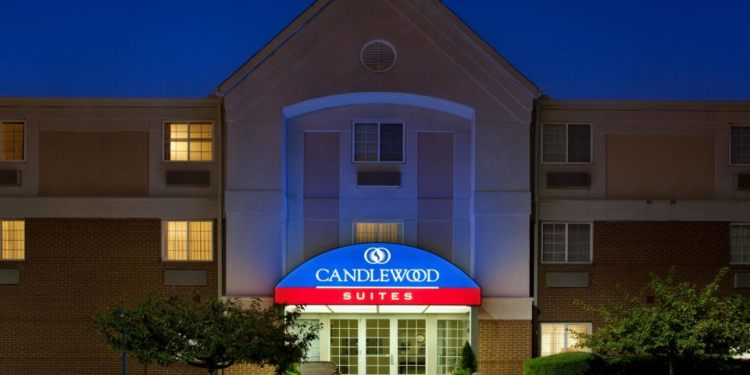 Front view of Candlewood Suites, OH 43230