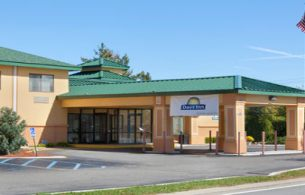 Front view of Days Inn Latham Albany Airport, NY 12110
